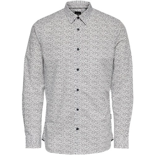 Coupe Slim Chemise Men White - Only & Sons - Modalova