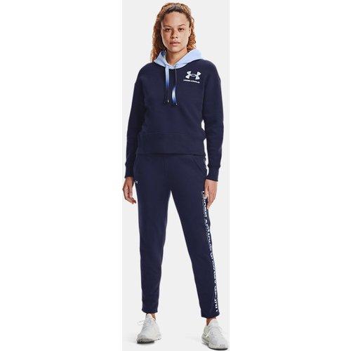 Pantalon avec dégradé UA Rival Fleece - Under Armour - Modalova