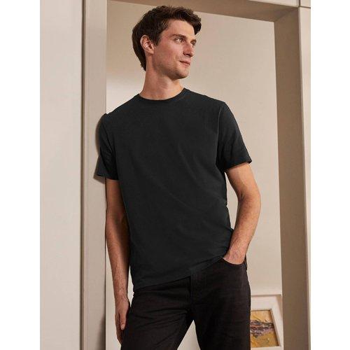 T-shirt classique en coton BLK  - Boden - Modalova