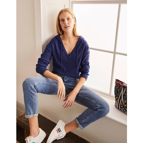 Sweat à capuche Ellen en jersey doux IND  - Boden - Modalova