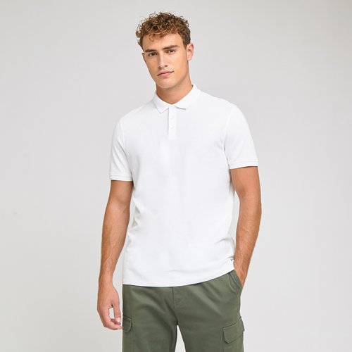Polo manche courte uni Blanc Homme - Brice - Modalova