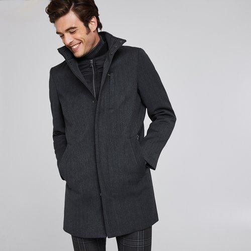 Manteau long zippé doublure amovible - Brice - Modalova