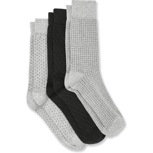 Lot de 3 paires de chaussettes à motifs - Brice - Modalova