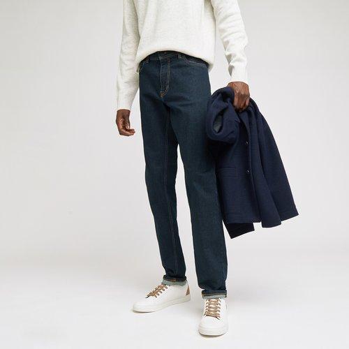 Jean slim #Tom brut Bleu Homme - Brice - Modalova
