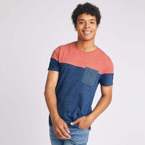 T-shirt color block ethnique - Brice - Modalova