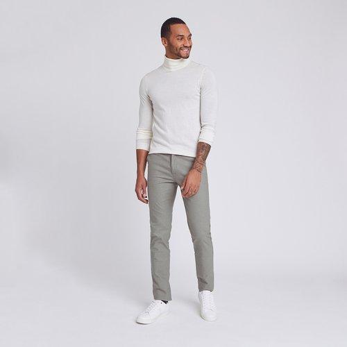Pantalon chino slim Beige Homme - Brice - Modalova