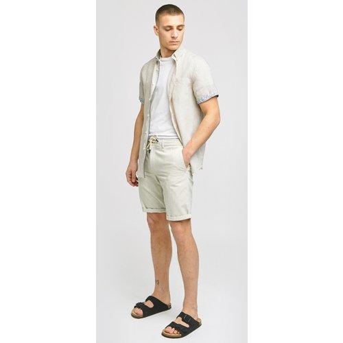 Bermuda chino rayures Blanc Homme - Brice - Modalova