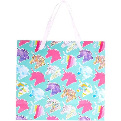 Petit sac cadeau à imprimé licorne - Claire's - Modalova