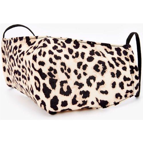 Masque en coton imprimé léopard couleur - Adulte - Claire's - Modalova