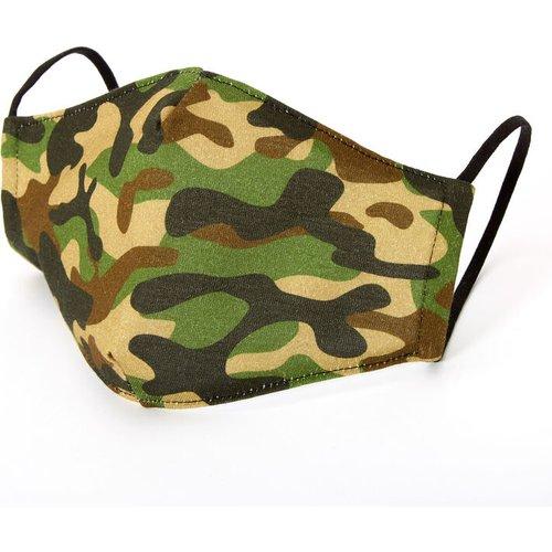 Masque en coton imprimé camouflage - Adulte - Claire's - Modalova