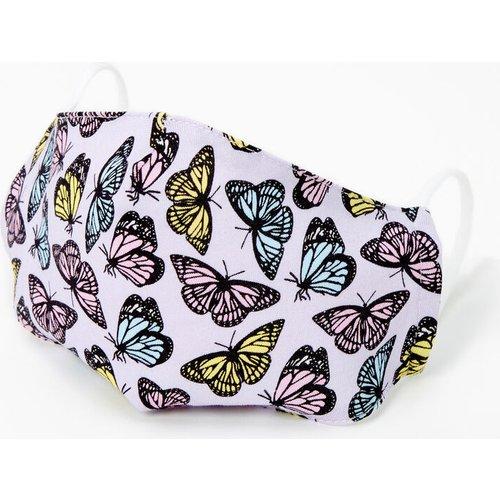 Masque en coton papillons pastel - Adulte - Claire's - Modalova