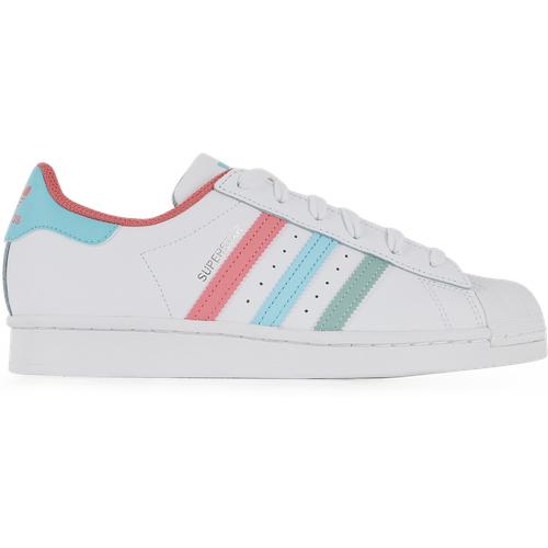 Superstar Blanc/violet/bleu - adidas Originals - Modalova