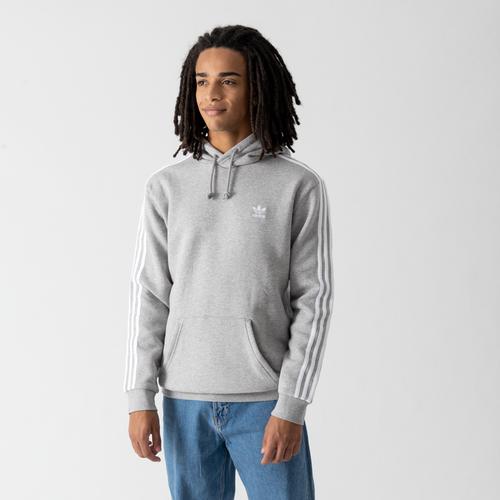 Hoodie 3 Stripes Gris - adidas Originals - Modalova