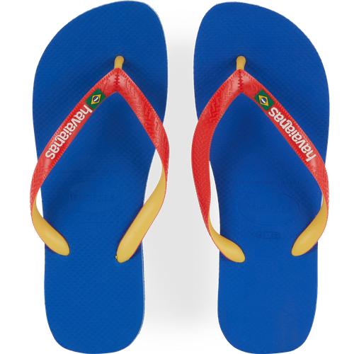 Brasil Mix Bleu/rouge/jaune - Havaianas - Modalova