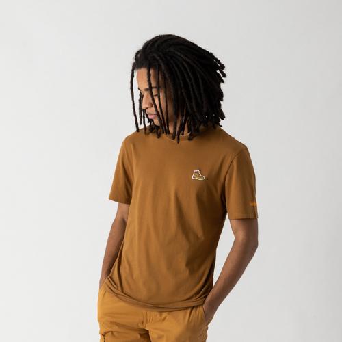 Tee Shirt Boot Logo Beige - Timberland - Modalova