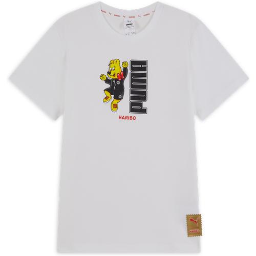 Haribo Graphic Tee Blanc/jaune - Puma - Modalova