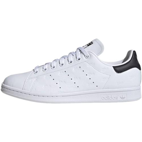 Stan Smith Embossed Blanc/noir - adidas Originals - Modalova