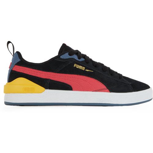 Suede Bloc Noir/bleu/orange - Puma - Modalova
