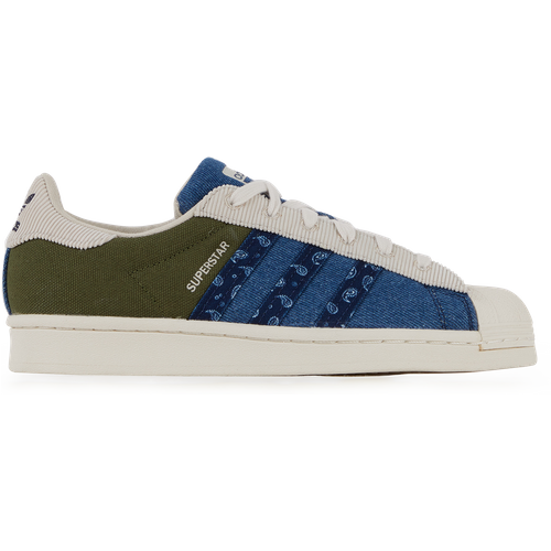 Superstar Patchwork Marine/kaki - adidas Originals - Modalova