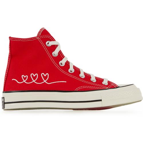 Ctas Hi 70's Valentine's Day Rouge - Converse - Modalova