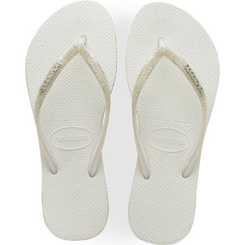 Slim Sparkle Blanc - Enfant  - Havaianas - Modalova