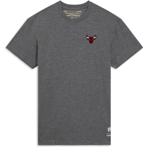Tee Shirt Bulls Broderie Gris Gris - Mitchell & Ness - Modalova