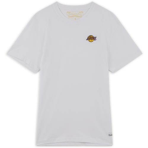Tee Shirt Lakers Broderie Blanc - Mitchell & Ness - Modalova
