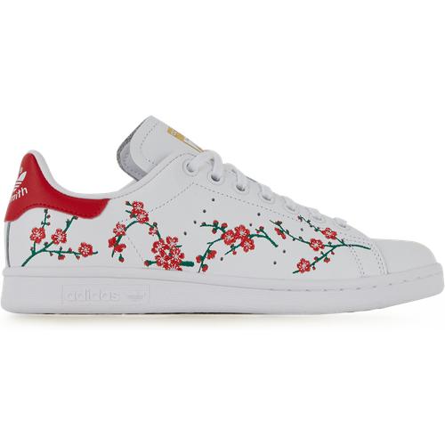 Stan Smith Flower Blanc/rouge - adidas Originals - Modalova