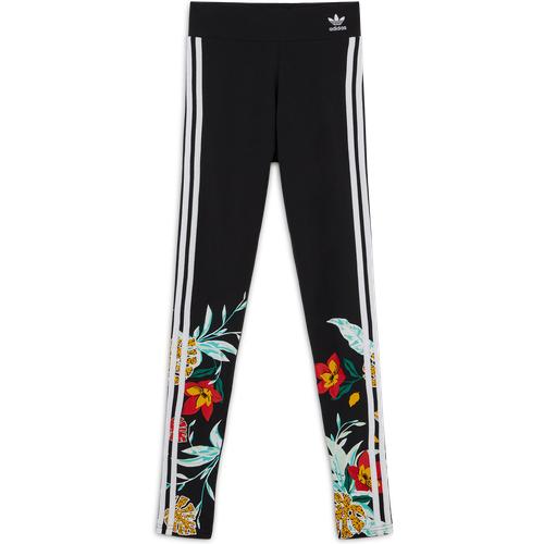 Legging Stripes Floral Noir/blanc - adidas Originals - Modalova