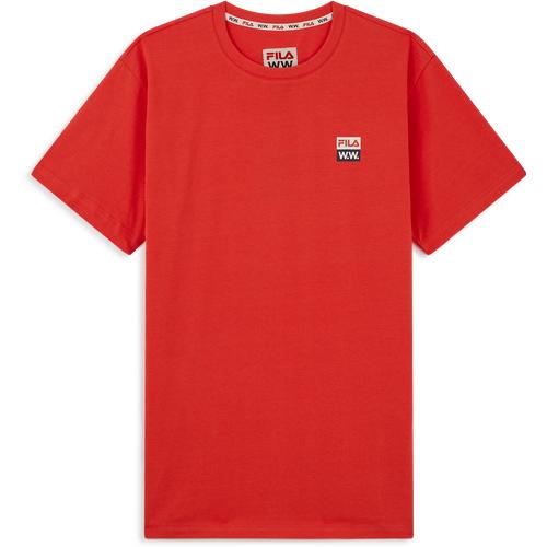 Tee Shirt Fila X Woodwood Brique - Fila - Modalova