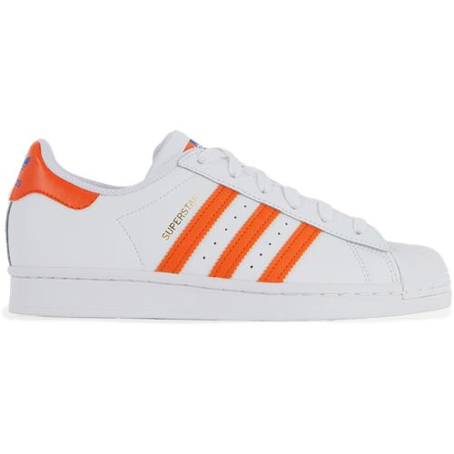 Superstar Bi Ton Blanc/orange/bleu - adidas Originals - Modalova