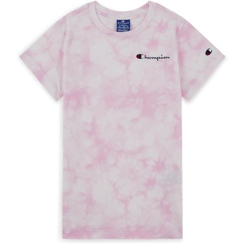 Tee Shirt Tie Dye Rose/blanc - Champion - Modalova