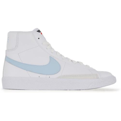 Blazer Mid Blanc/bleu - Nike - Modalova