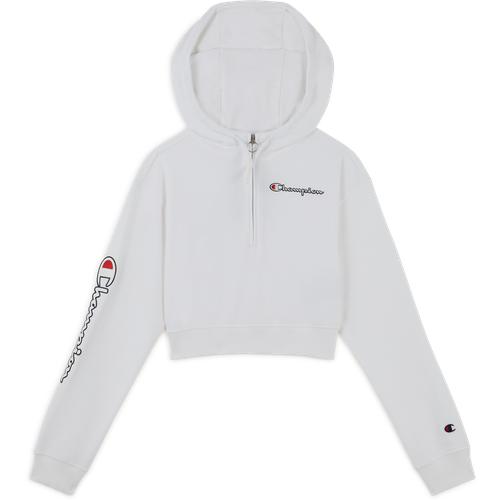 Hoodie Demi Zip Small Logo Blanc - Champion - Modalova