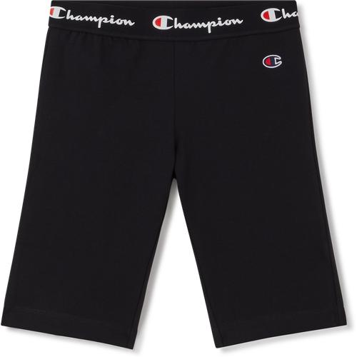 Short Cycliste Logo Waist Noir - Champion - Modalova