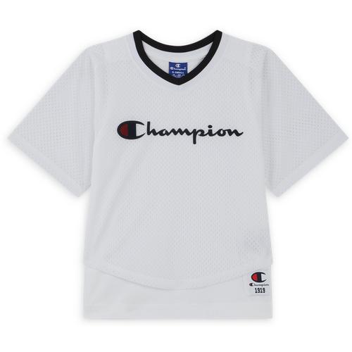Tee Shirt Bball Jersey 2in1 Blanc - Champion - Modalova