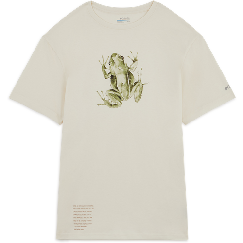 Tee Shirt Organic Cotton Beige - Columbia - Modalova