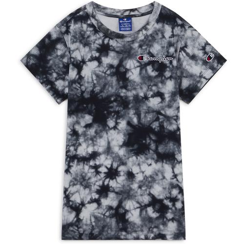 Tee Shirt Tie Dye Noir/blanc - Champion - Modalova