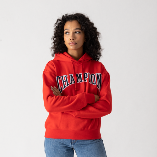 Hoodie University Rouge/noir/blanc - Champion - Modalova