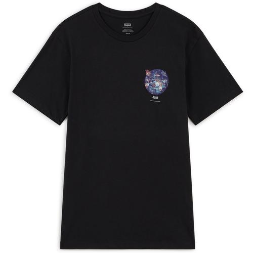Tee Shirt Graphic Design Noir/bleu - Levis - Modalova