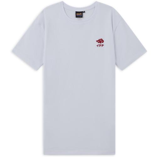 Tee Shirt Akatsuki Blanc - Naruto - Modalova