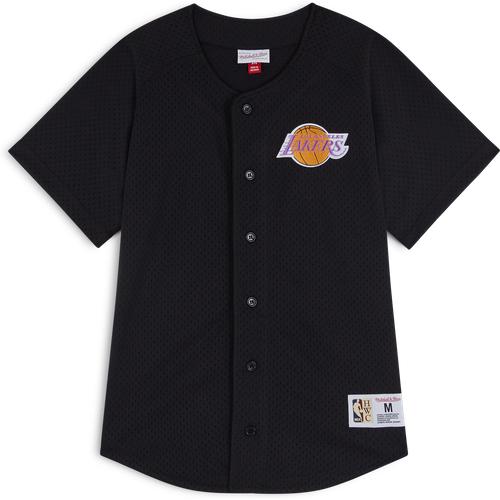Tee Baseball Shirt Lakers Noir - Mitchell & Ness - Modalova