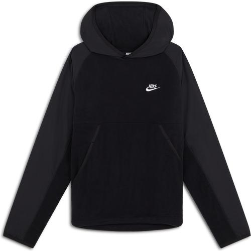 Hoodie Polaire Nike Noir L Homme - Nike - Modalova