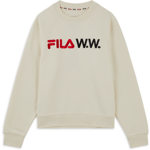 Sweat Fila X Woodwood Femme Beige - Fila - Modalova