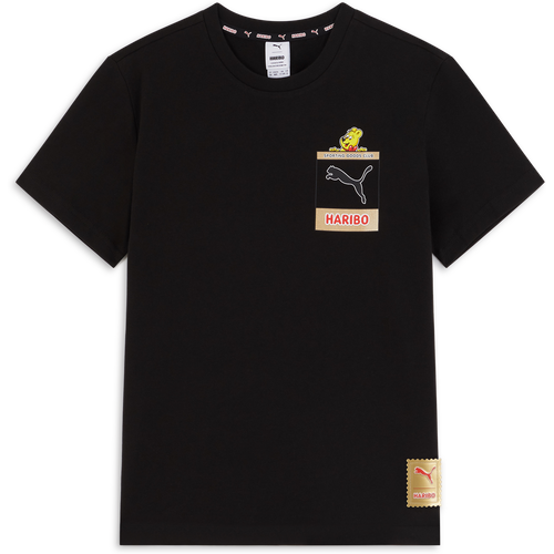 Haribo Graphic Tee Noir/jaune - Puma - Modalova
