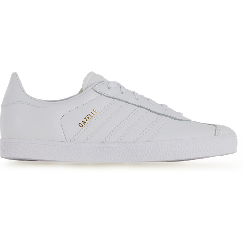 Gazelle Leather Blanc - adidas Originals - Modalova