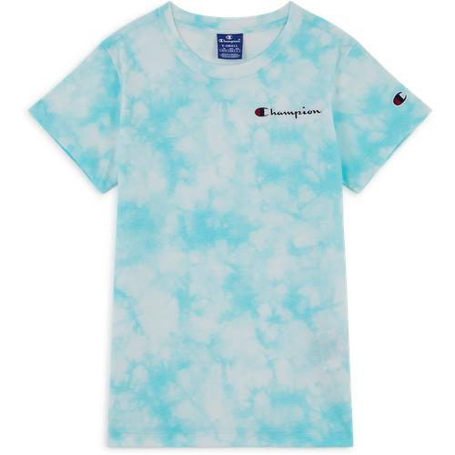 Tee Shirt Tie Dye Bleu/blanc - Champion - Modalova