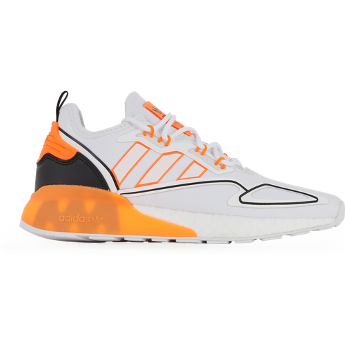 Zx 2k Boost Blanc/orange - adidas Originals - Modalova