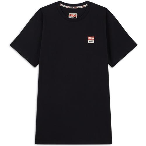 Tee Shirt Fila X Woodwood Noir - Fila - Modalova