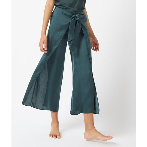Pantalon fendu sur les côtés, noué devant - BAMBY - S -  - Etam - Modalova